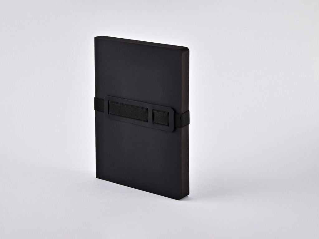 Black Voyager L A5 Dotted Notebook
