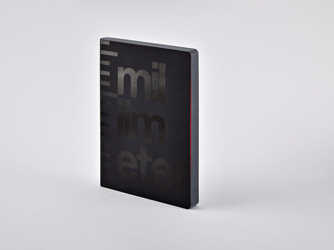 Millimetre Graphic L Grid Notebook, A5