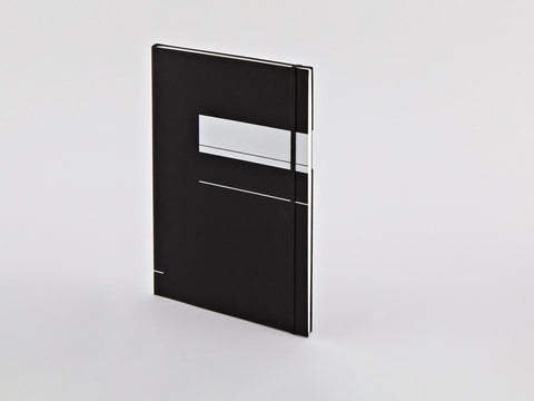 Black XL Project A4 Dotted Notebook