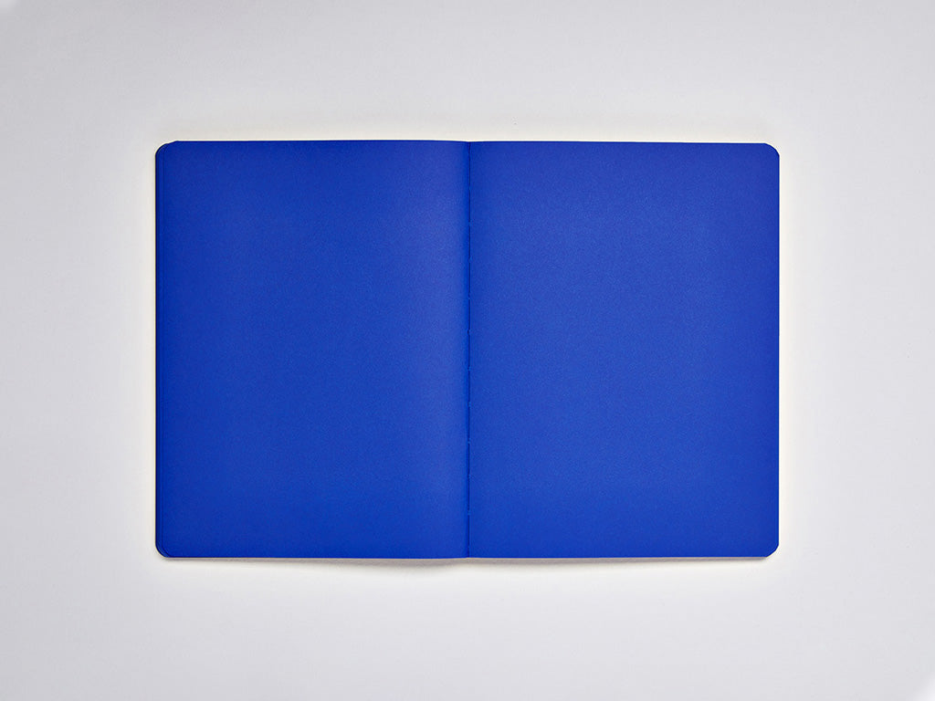 Blue, Not White L Light Notebook, A5