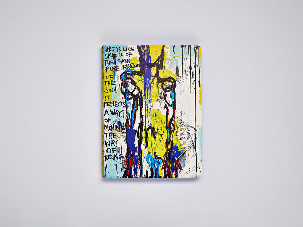 Art Is Like… L Notebook by Marija Mandic (LIMITED EDITION)