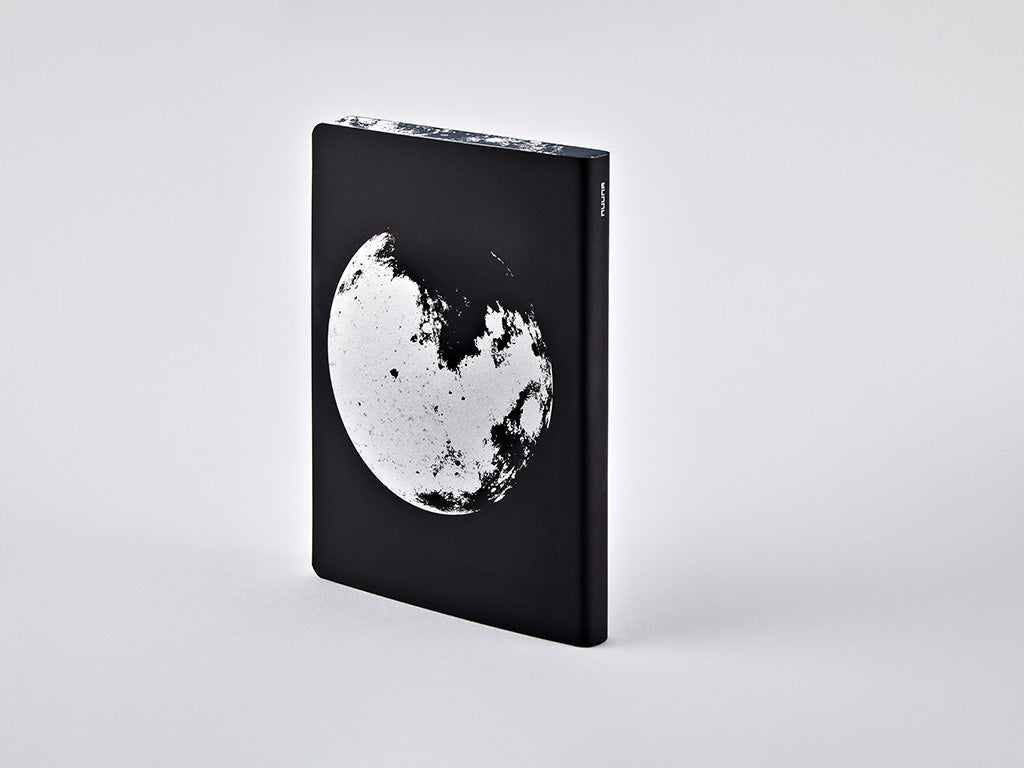 Moon Graphic L Dotted Notebook, A5