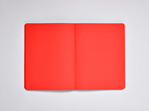Red, Not White L Light Notebook, A5