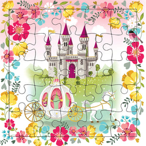The Princess Castle Puzzle Card