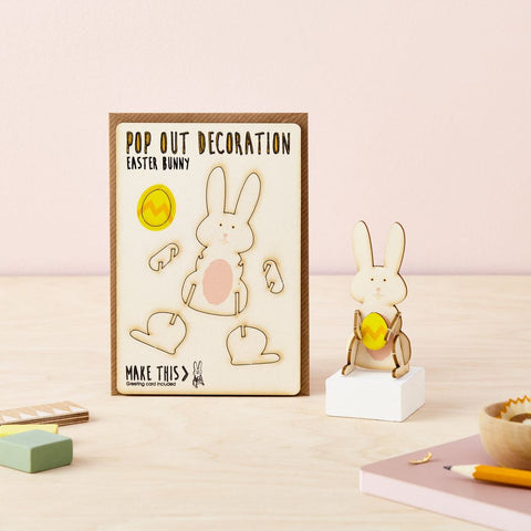 Pop Out Easter Bunny Card