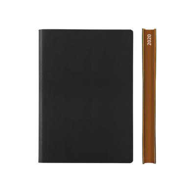 Signature 2020 Page-A-Day Diary (A5, Black)
