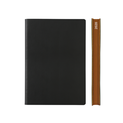 Signature 2021 Page-A-Day Diary (A5, Black)