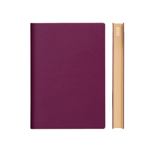 Signature 2020 Page-A-Day Diary (A5, Purple)