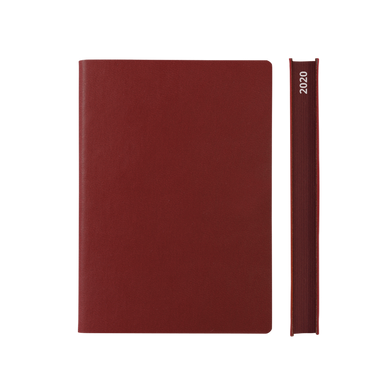 Signature 2020 Page-A-Day Diary (A5, Red)
