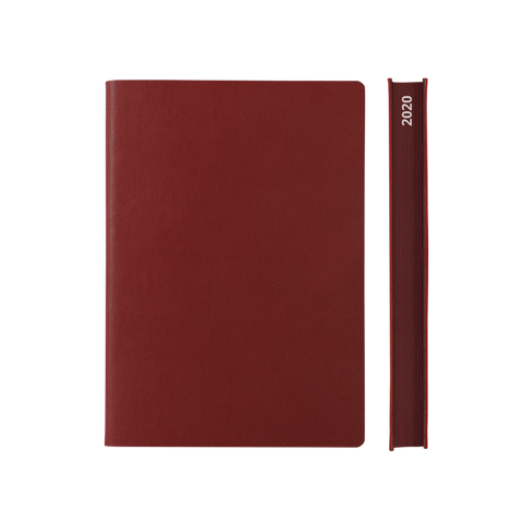 Signature 2021 Page-A-Day Diary (A5, Red)