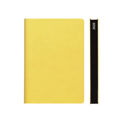 Signature 2020 Page-A-Day Diary (A5, Yellow)