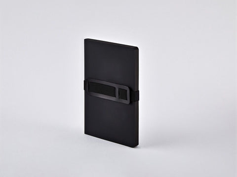 Black Voyager M A6 Dotted Notebook