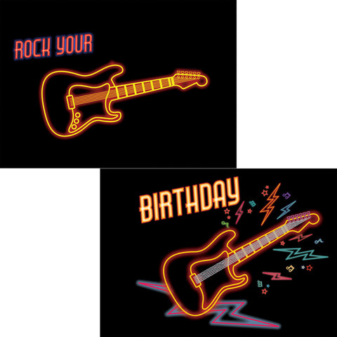 Rock Your Birthday 3D Postcard