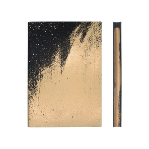 Daycraft A5 Signature Paint Art Plain Notebook - Gold