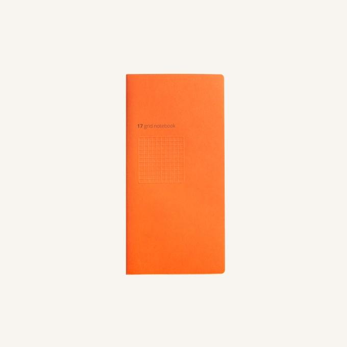 Daycraft Handy Pick Grid Book, Large - Orange