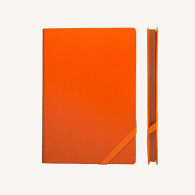 Make My Day Lined Notebook (A5, Orange)