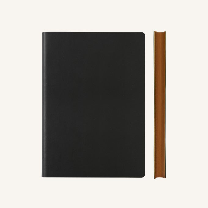 Daycraft Signature Lined Notebook - A5, Black