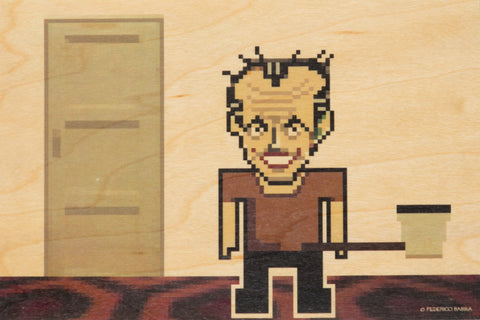 Pixel Jack (The Shining) Postcard