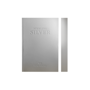 Daycraft Slab Notebook - Silver, A6