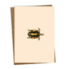 Sleepy Head Greeting Card, Blank