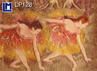 Lenticular Animation Postcard, Edgar Degas
