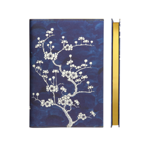 Daycraft Flower Wow Notebook - Ceramic Blue