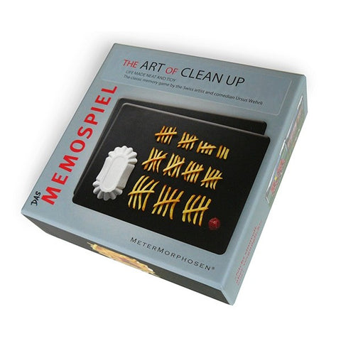 The Art Of Clean Up Memory Game