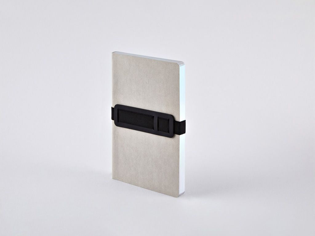 Grey Voyager M A6 Dotted Notebook