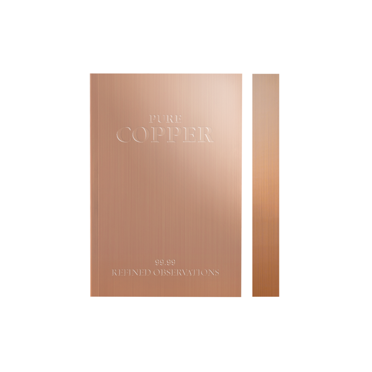 Daycraft Slab Notebook - Copper, A6