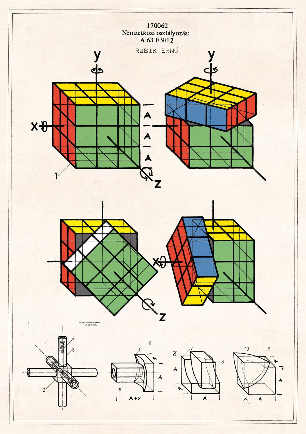 The Pattern Book Rubik's Cube