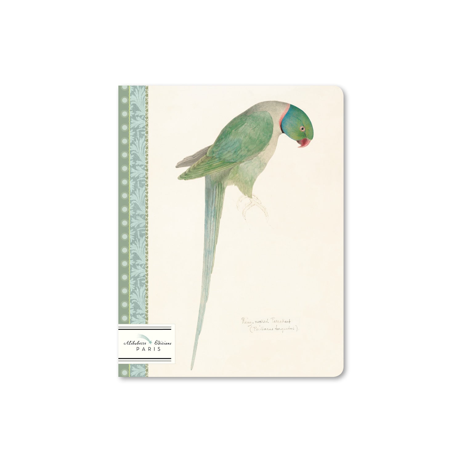 Perruche Composition Book (A5, Lined)