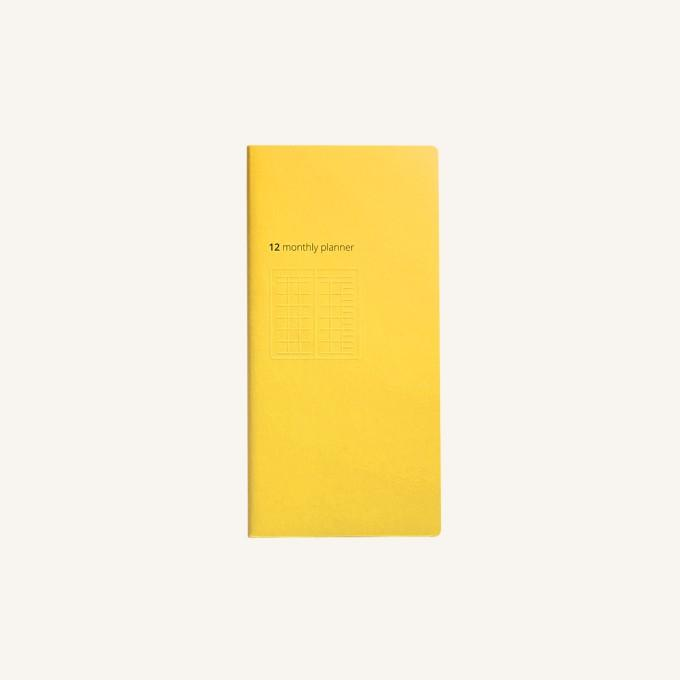 Daycraft Handy Pick Monthly Planner, Large - Yellow