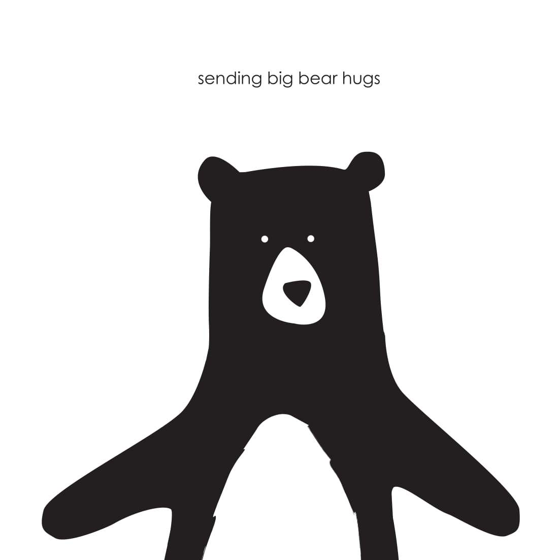 Heather Alstead Design Big Bear Hug Card