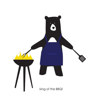 Heather Alstead Design King of the BBQ Card