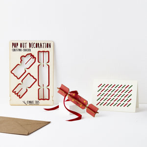 Pop Out Christmas Cracker Card