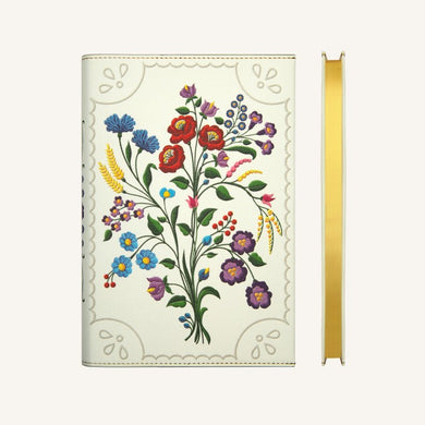 Flower Wow Lined Notebook (A5, Kalosca Violets)