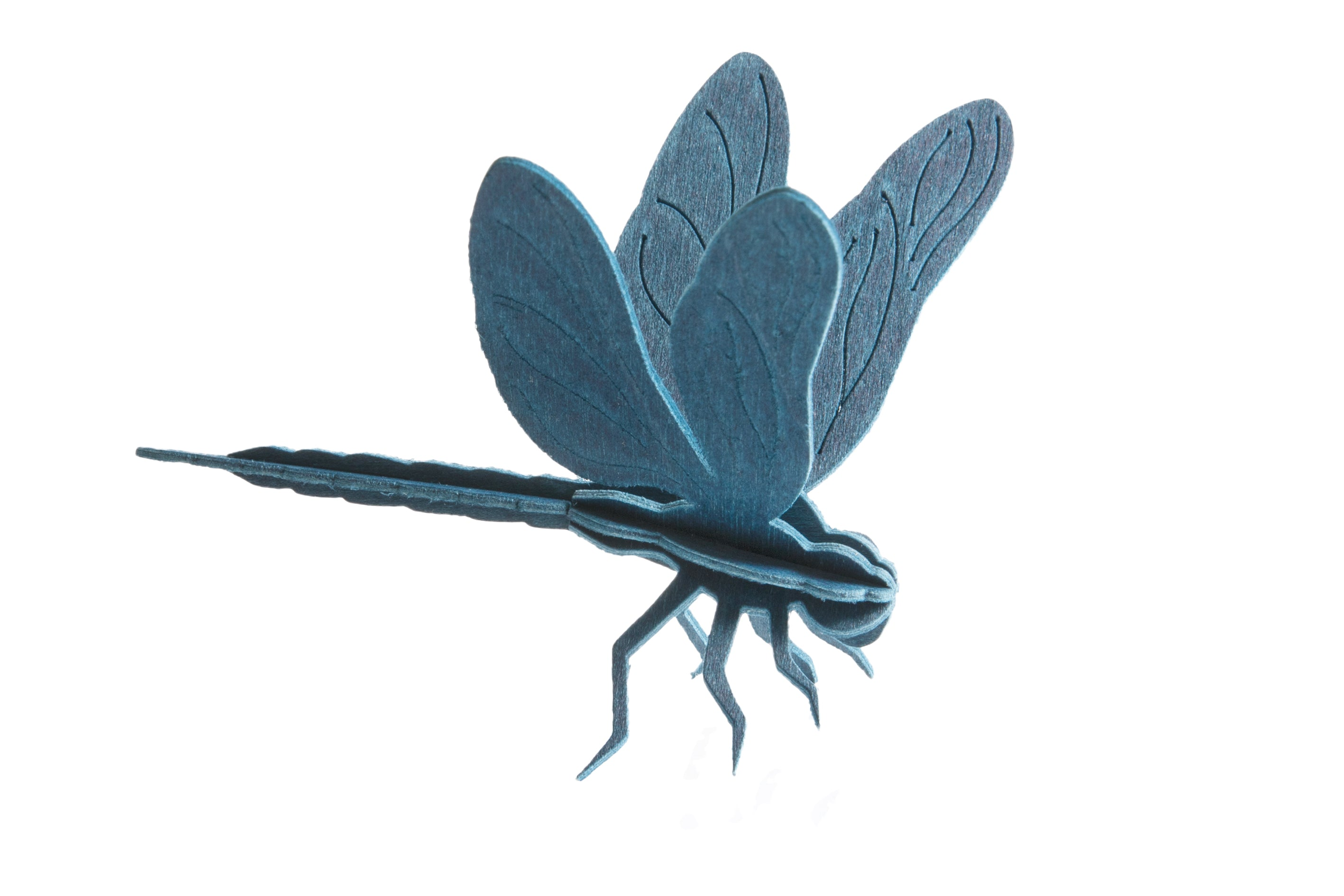 S Dragonfly, Light Blue (10cm)