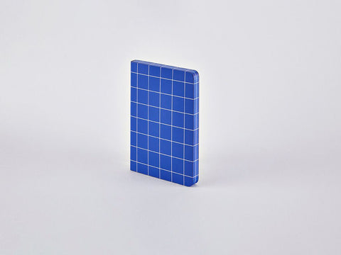 Break The Grid Blue S Grid Notebook, A6