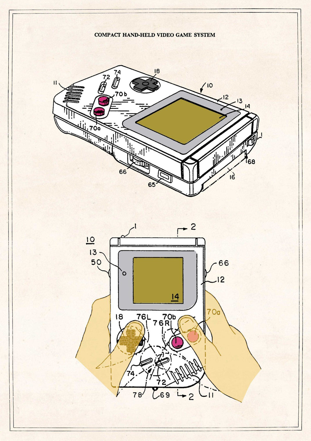 The Pattern Book Game Boy