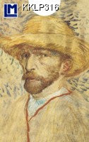 Lenticular Animation Card Case, Vincent Van Gogh II