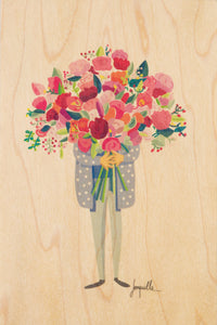 Bouquet Postcard
