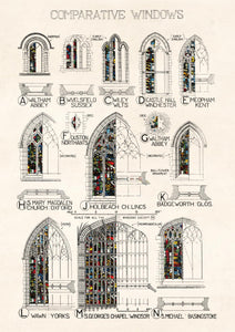 Gothic Windows Card