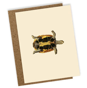 Sleepy Head Mini Greeting Card, Blank