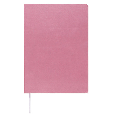 MEMMO Luxe Bonded Leather Lined Notebook A6, Pink
