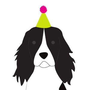 Heather Alstead Design Party Springer Spaniel - Pink Envelope