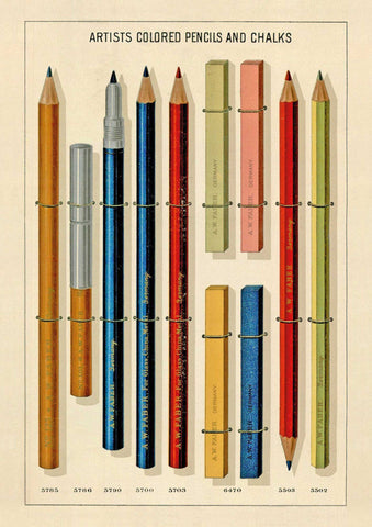 The Pattern Book Pencils
