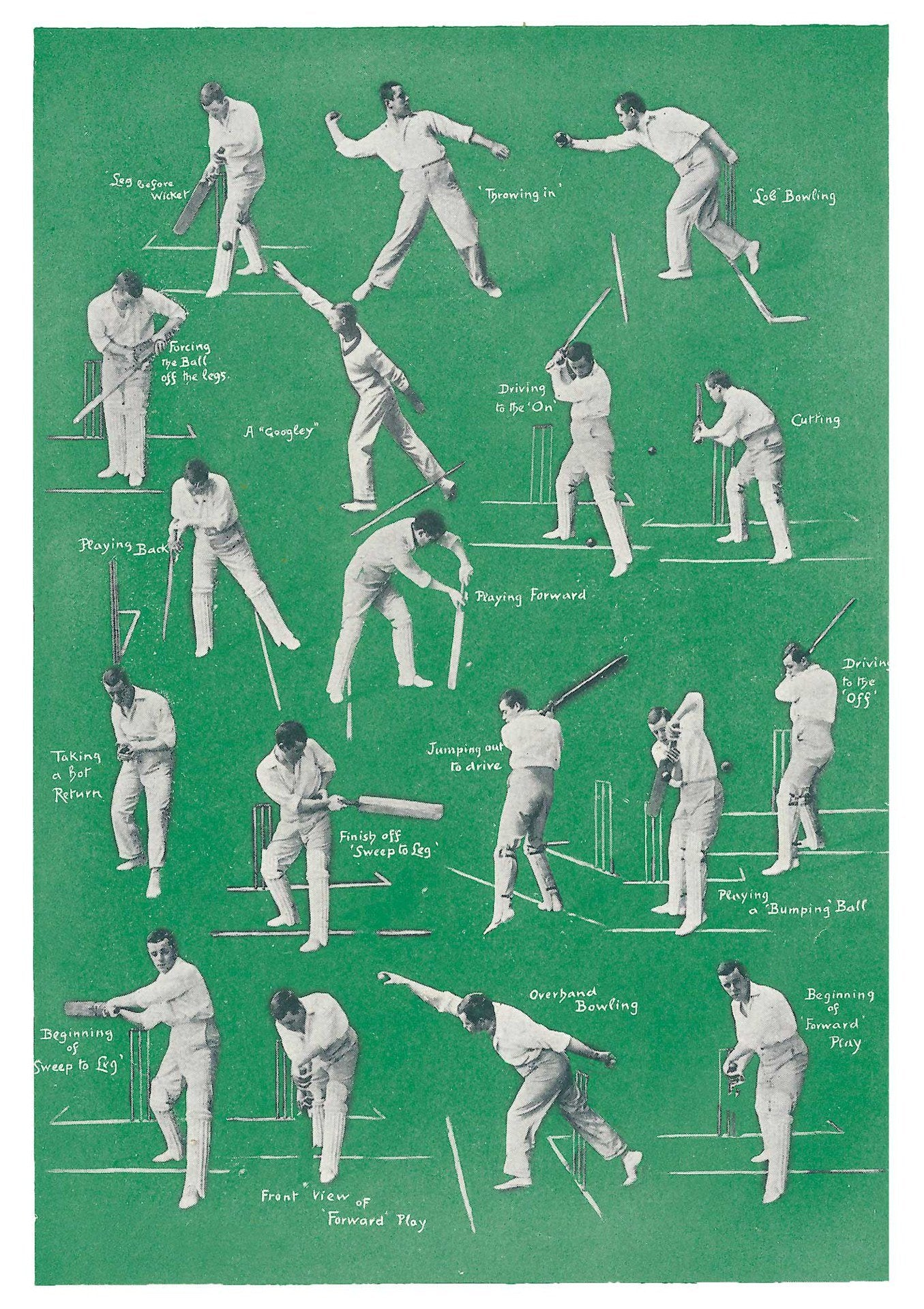 The Pattern Book Cricket: Batting and Bowling