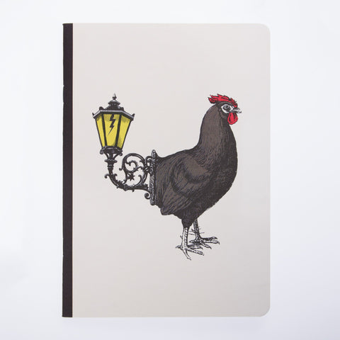 Gangzai Design A6 Notebook - Coq Light