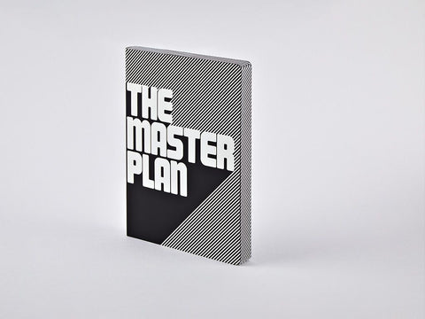The Master Plan Graphic L Dotted Notebook, A5