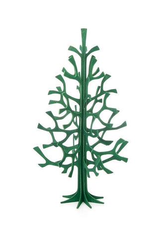 25cm Spruce Tree, Dark Green